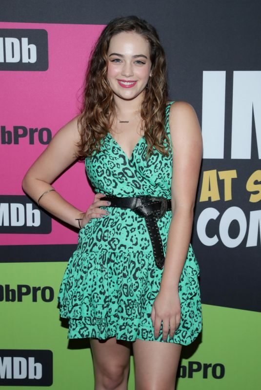 MARY MOUSER at #imdboat at 2019 Comic-con in San Diego 07/19/2019