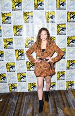 MARY MOUSER at Kobra Kai Past, Prsent and Future Panel at Comic-con in San Diego 07/18/2019