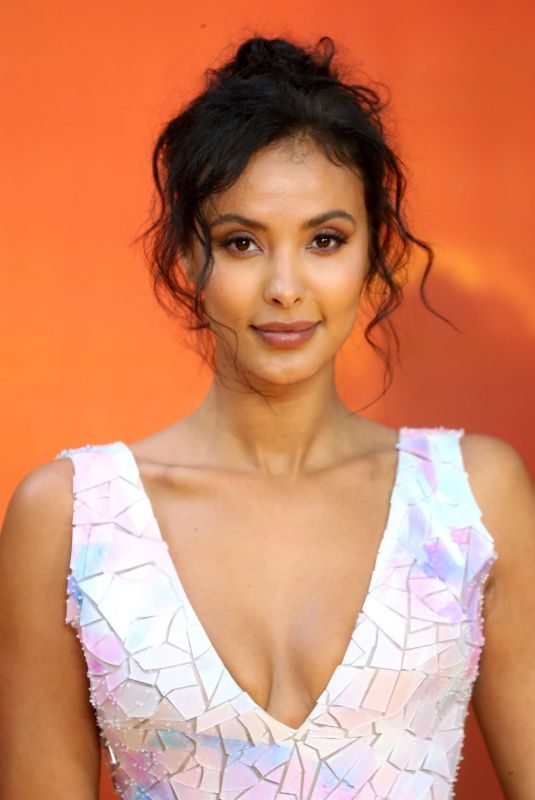 MAYA JAMA at The Lion King Premiere in London 07/14/2019