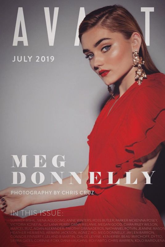 MEG DONNELLY for Avante Magazine, July 2019