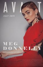 MEG DONNELLY in Avante Magazine, July 2019