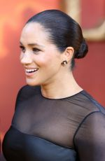 MEGHAN MARKLE at The Lion King Premiere in London 07/14/2019