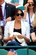 MEGHAN MARKLE at Wimbledon Tennis Championships in London 07/04/2019