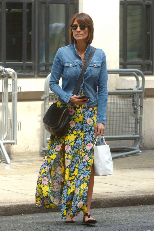 MELANIE SYKES Leaves BBC Wogan House in London 07/20/2019