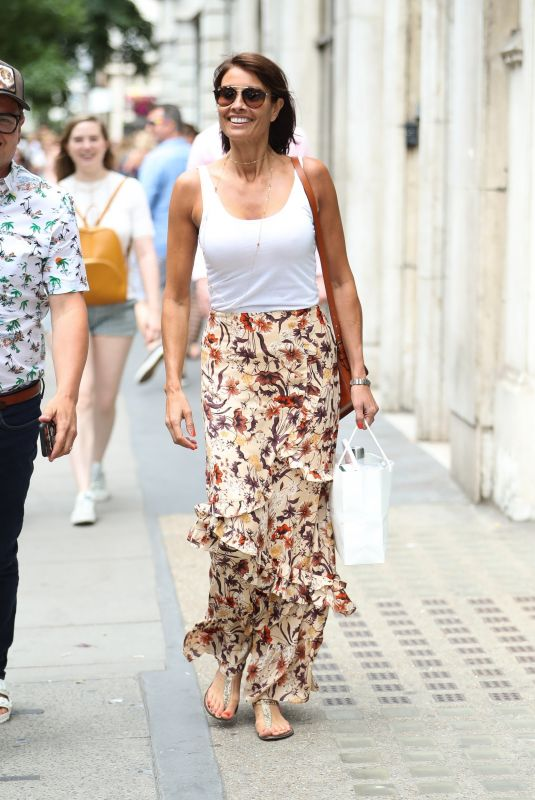 MELANIE SYKES Out in London 07/06/2019