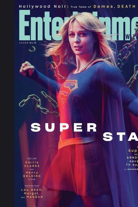 MELISSA BENOIST in Entertainment Weekly Magazine, August 2019