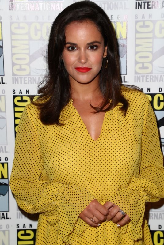 MELISSA FUMERO at Brooklyn Nine-Nine Press Line at Comic-con 2019 in San Diego 07/20/2019