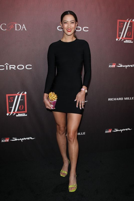 MICHELLE WIE at Sports Illustrated Fashionable 50 in Los Angeles 07/18/2019