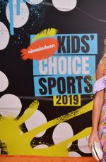 MIKAELA SHIFFRIN at Nickelodeon Kids