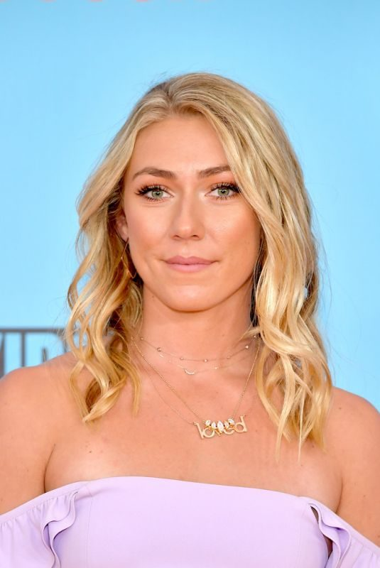 MIKAELA SHIFFRIN at Nickelodeon Kids' Choice Sports 2019 Awards in Santa Monica 07/11/2019
