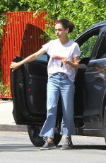 MILA KUNIS Out and About in Los Angeles 07/15/2019