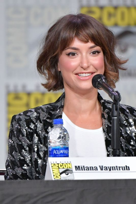 MILANA VAYNTRUB at It Came from the 90s Panel at Comic-con in San Diego 07/19/2019