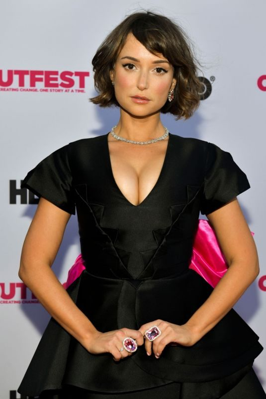 MILANA VAYNTRUB at Outfest Film Festival in Los Angeles 07/18/2019