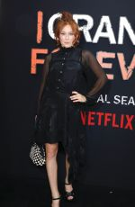 MINA SUNDWALL at Orange is the New Black Final Season Premiere in New York 07/25/2019