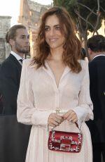MIRIAM LEONE at Fendi Fashion Show in Rome 07/04/2019