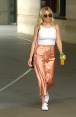 MOLLIE KING Leaves BBC Radio One in London 07/21/2019