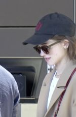 NATALIA DYER at LAX Airport in Los Angeles 06/28/2019