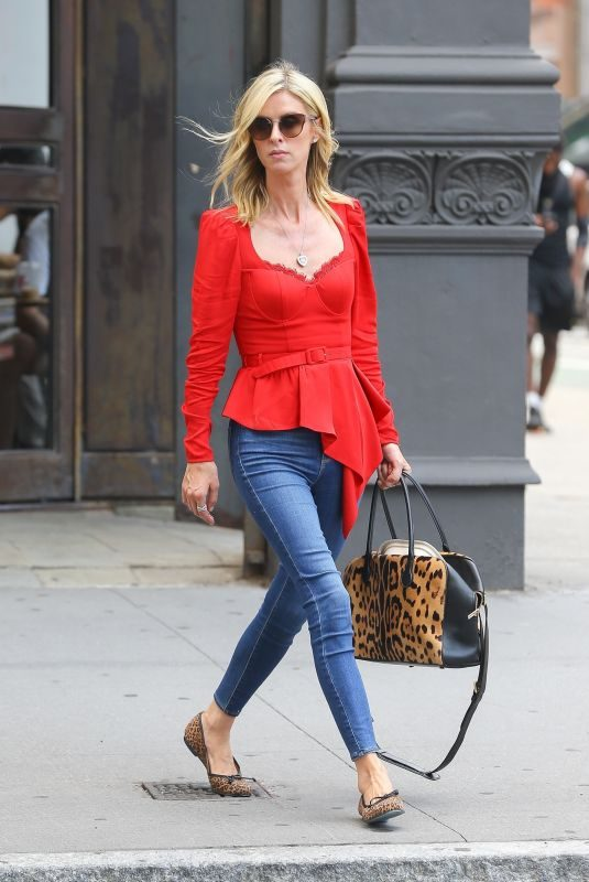 NICKY HILTON Out and About in New York 07/30/2019