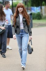 NICOLA ROBERTS Out and About in London 07/27/2019