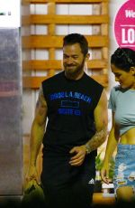 NIKKI BELLA and Artem Chigvintsev Out Shopping in Los Angeles 07/22/2019