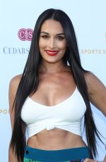 NIKKI BELLA at Cedars-sinai and Sports Spectacular