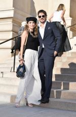 NIKKI REED and Ian Somerhalder Arrives at Armani Fashion Show at Paris Haute Couture Week 07/02/2019