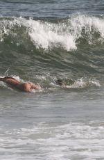NINA AGDAL in Bikini at a Beach in Hamptons 07/09/2019
