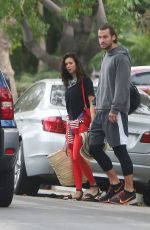 NINA DOBREV and Grant Mellon Out in Los Angeles 07/04/2019