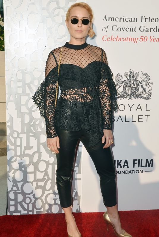 NOOMI RAPACE at American Friends of Covent Garden 50th Anniversary in Beverly Hills 07/10/2019