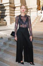 NORA ARNEZEDER at Giorgio Armani Prive Haute Couture Fall/Winter 2019/2020 Show in Paris 07/02/2019