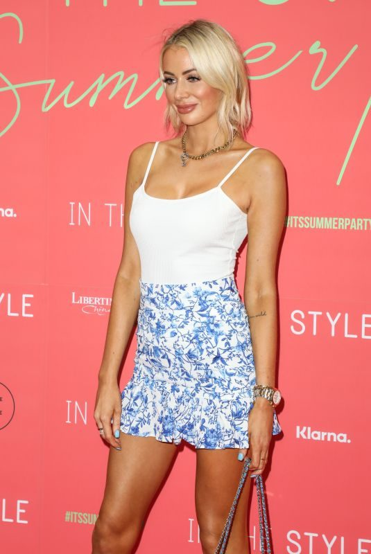 OLIVIA ATTWOOD at In the Style Summer Party at Libertine in London 07/25/2019