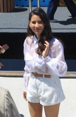 OLIVIA MUNN at #imdboat at 2019 Comic-con in San Diego 07/19/2019