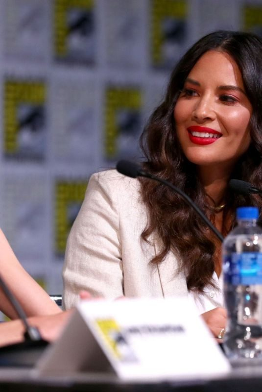 OLIVIA MUNN at The Rook Panel at Comic-con in San Diego 07/19/2019