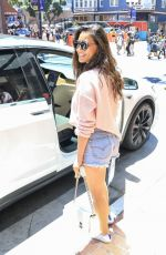 OLIVIA MUNN in Denim Shorts Out at Comic-con in San Diego 07/20/2019