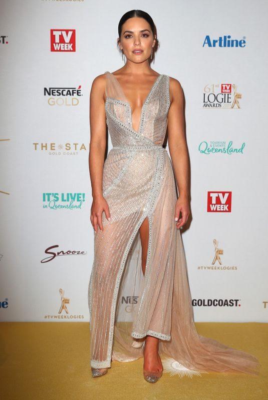 OLYMPIA VALANCE at 2019 TV Week Logie Awards on the Gold Coast 06/30/2019