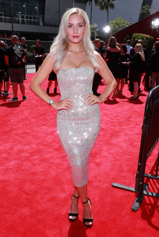 PAIGE SPIRANAC at 2019 ESPY Awards in Los Angeles 07/10/2019