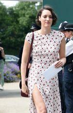 PHOEBE WALLER-BRIDGE at Wimbledon 2019 Tennis Championships in London 07/06/2019