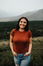 PIPER PALIN on the Set of a Photoshoot in Anchorage, July 2019