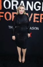 Pregnant AMANDA FULLER at Orange is the New Black Final Season Premiere in New York 07/25/2019