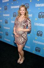 Pregnant ANDREA BROOKS at Entertainment Weekly Party at Comic-con in San Diego 07/20/2019