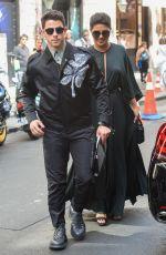 PRIYANKA CHOPRA and Nick Jonas Out in Paris 07/01/2019