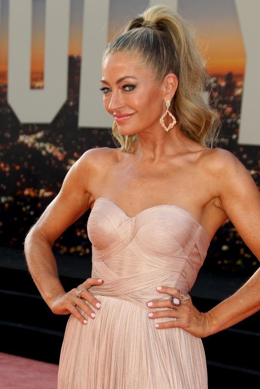 REBECCA GAYHEART at Once Upon A Time in Hollywood Premiere in Los Angeles 07/22/2019
