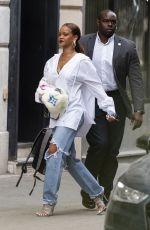 RIHANNA Arrives at Paris-charles-de-gaulle Airport 07/26/2019