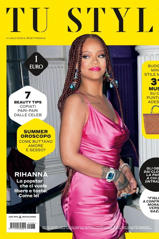 RIHANNA in Tu Style Magazine, July 2019