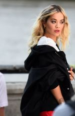 RITA ORA for Rimmel London Advert Photoshoot in London 07/12/2019