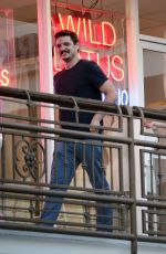 ROBIN TUNNEY and Pedro Pascal o\Out for Dinner in Los Angeles 07/16/2019