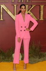 ROCHELLE HUMES at The Lion King Premiere in London 07/14/2019