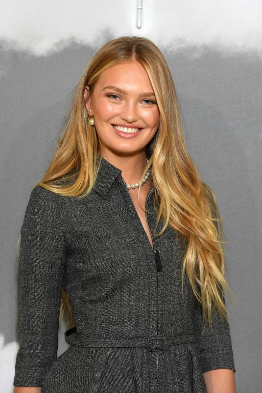 ROMEE STRIJD at Christian Dior Haute Couture Show at Paris Fashon Week 07/01/2019