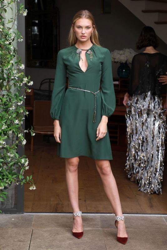 ROMEE STRIJD at Julie De Libran Haute Couture Fall/Winter 2019/2020 Show in Paris 06/30/2019
