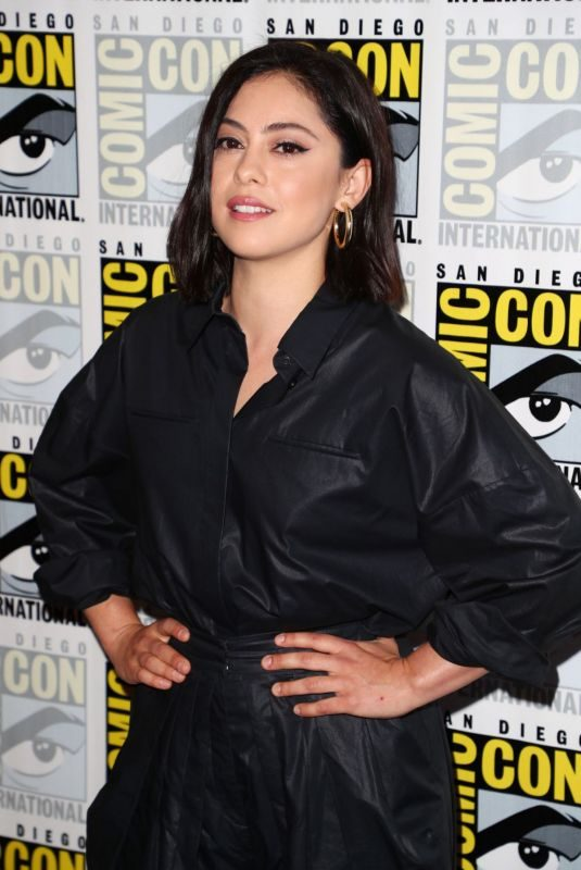 ROSA SALAZAR at Undone Panel at Comic-con in San Diego 07/18/2019